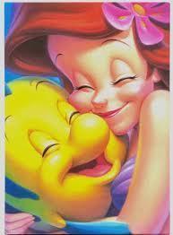 Ariel and linguado, solha <3