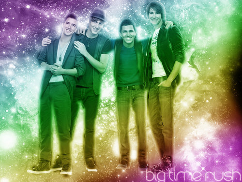 BTR Rainbow Wallpaper