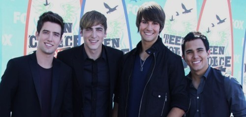 BTR Teen Choice Awards
