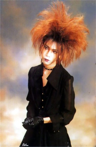Before Dir en grey - Shinya