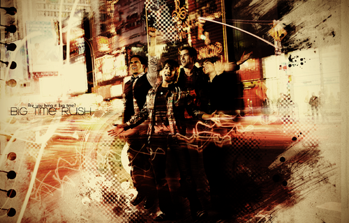 Big Time Rush NYC Wallpaper