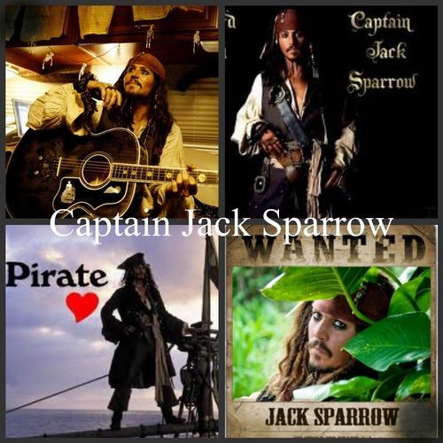 Captain Jack sparrow on Picnik