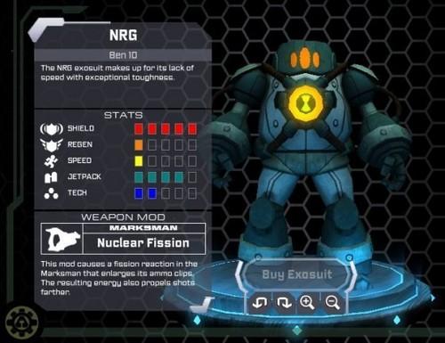 Ben 10 Ultimate Alien hình nền called Cartoon Network Universe: Project Exonaut
