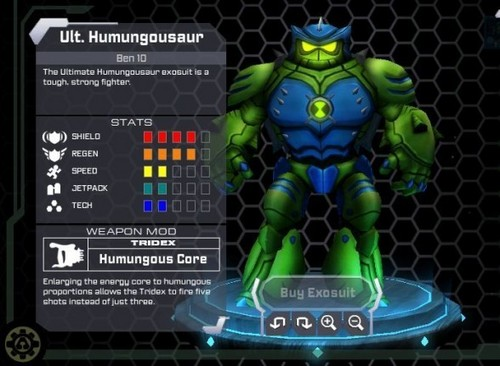 Ben 10: Ultimate Alien achtergrond titled Cartoon Network Universe: Project Exonaut