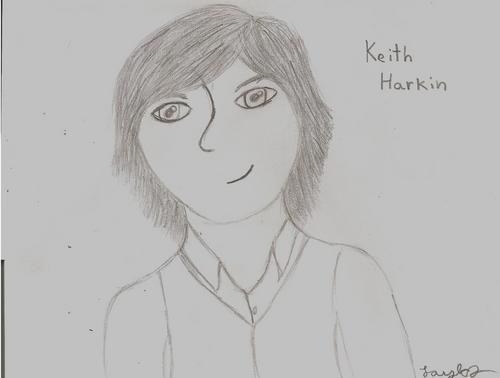 Cartoon drawing of keith!