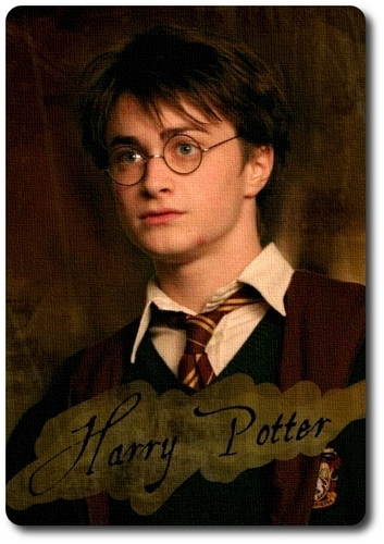 Character Card - Harry Potter
