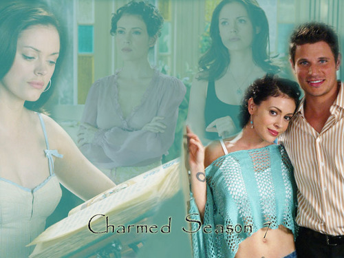 Charmed wallpaper containing a bridesmaid and a portrait called Charmed Wallpaperღ