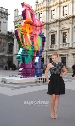 Chloe Moretz: Royal Academy Summer Exhibition