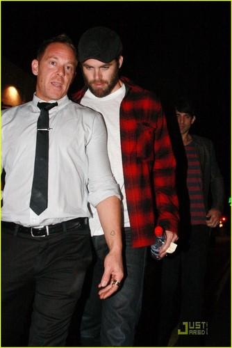 Chris Pine: Bearded Papaya King