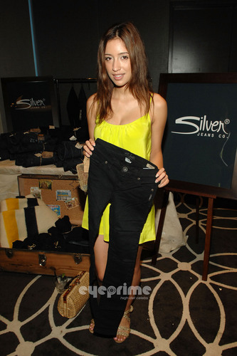 Christian Serratos: mtv Movie Awards Style Lounge in Hollywood, Jun 3