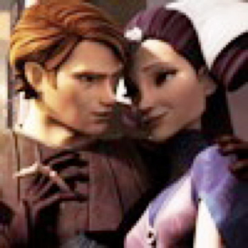 Clone Wars Anakin and Padmé