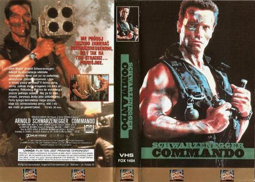Commando cover VHS