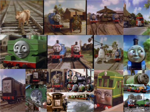 Thomas the Tank Engine wallpaper titled Cows And Other Stories