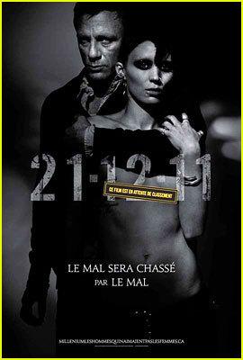 Daniel Craig: 'Dragon Tattoo' International Poster Released!