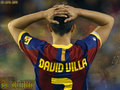 David Villa FC Barcelona Wallpaper