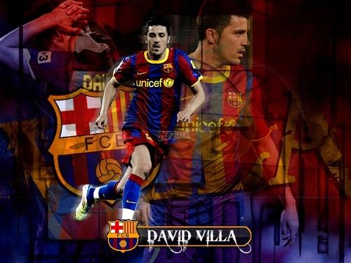 David উদ্যানবাটি FC Barcelona দেওয়ালপত্র