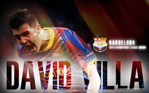 David ولا FC Barcelona پیپر وال