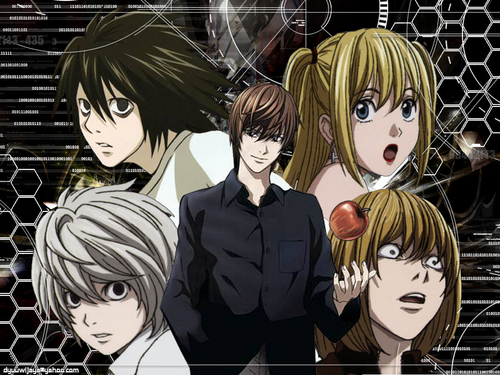 Death Note wallpaper with anime titled Death note <3