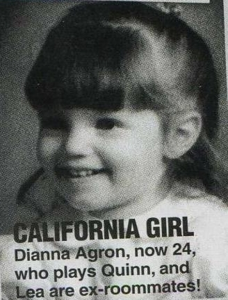 Dianna when she was a baby