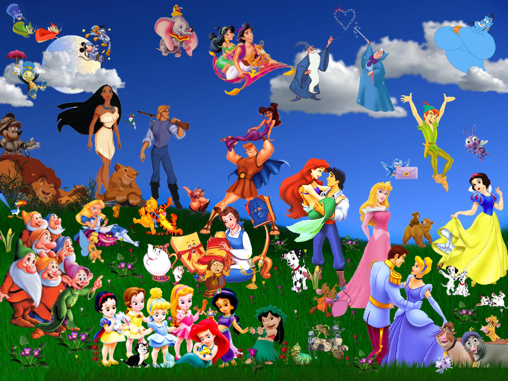 Disney Wallpaper 22585036 Fanpop