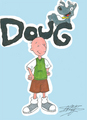 Doug and Porkchop a la Opening Sequence - doug fan art