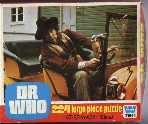 Dr Who jigsaw puzzle