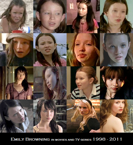 Emily Browning on the screen (1998 - 2011)