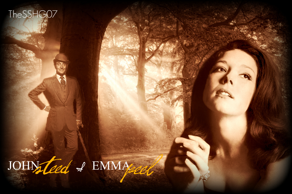 Emma & Steed wallpaper