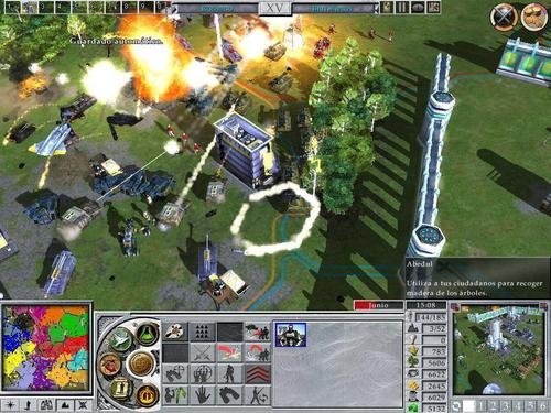 Empire Earth 2 battle