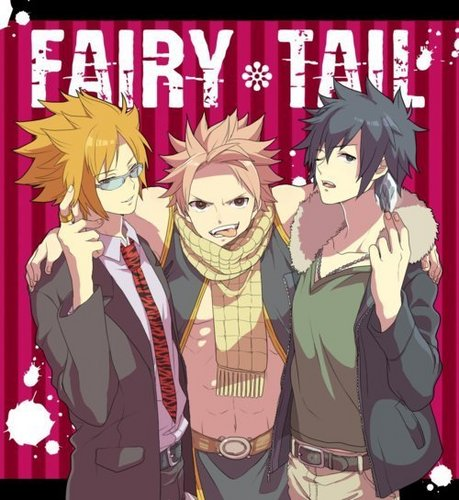Fairy Tail guys