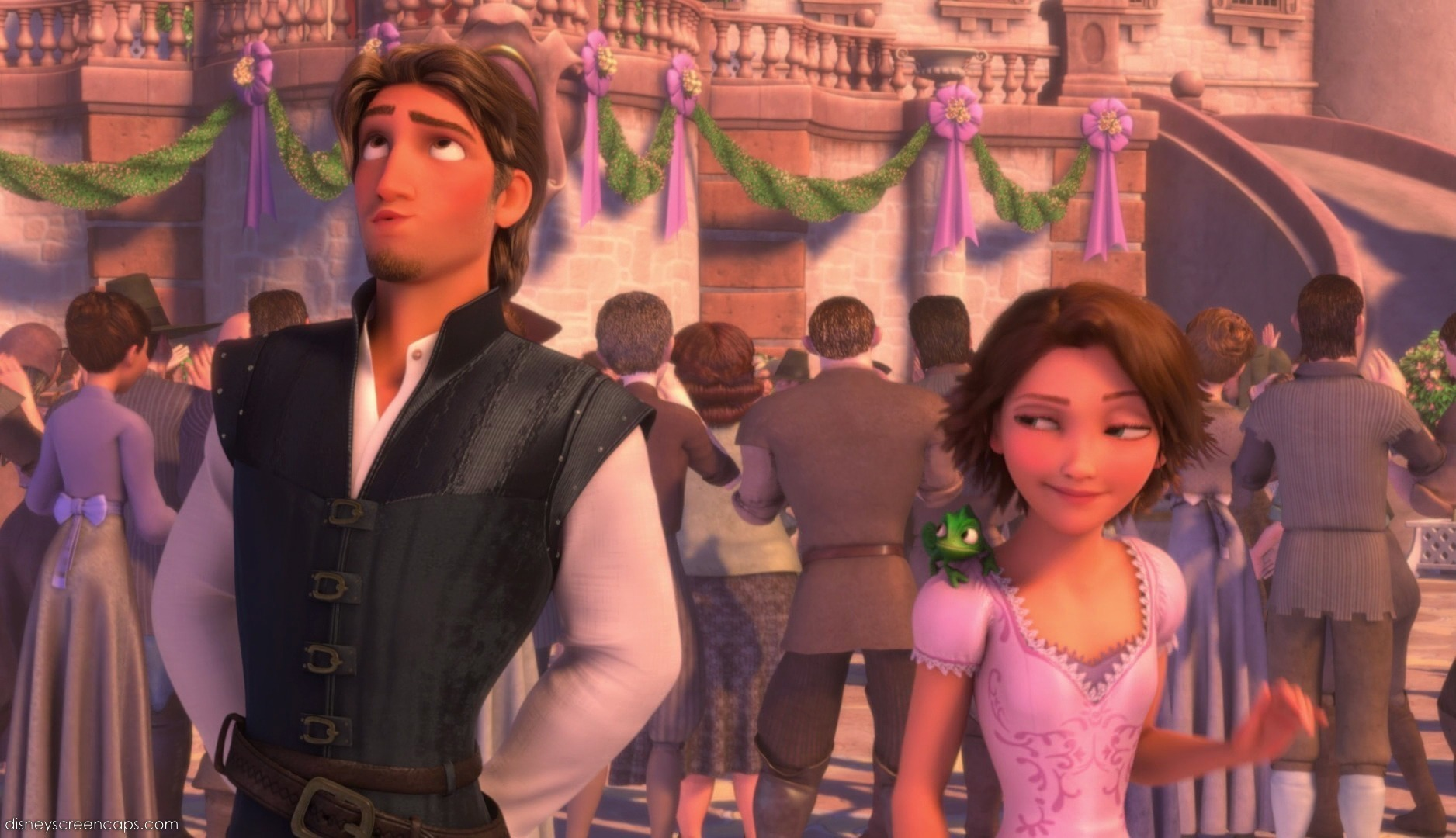 Flynn & Rapunzel Kingdom Celebration