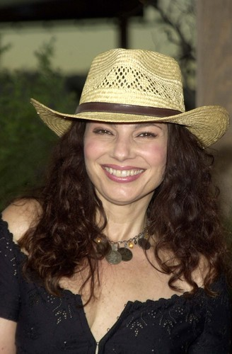 Fran Drescher Hintergrund containing a snap brim hat, a campaign hat, and a sombrero entitled Fran Drescher