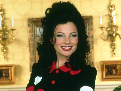 The Nanny wallpaper titled Fran