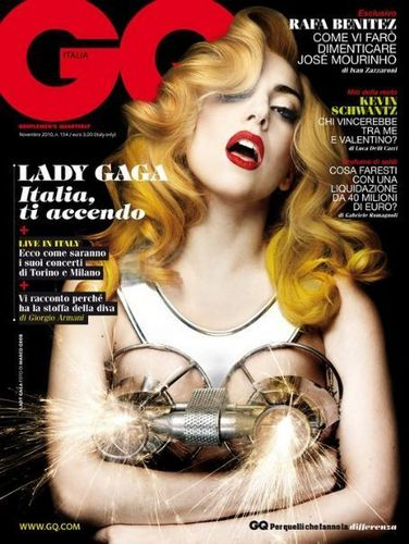 GQ Lady Gaga magazine cover