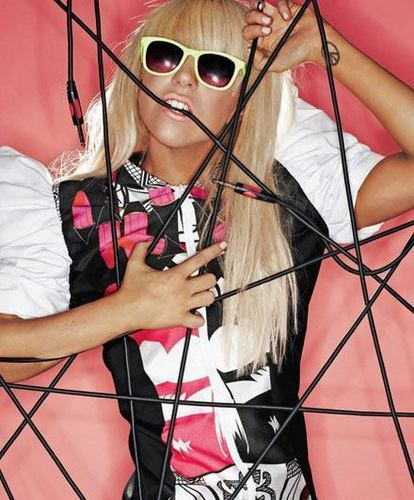 Gaga photoshoot