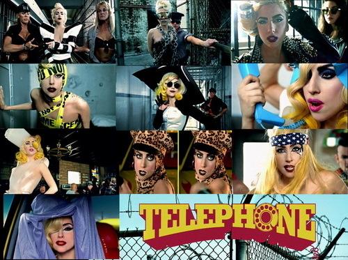 Gaga telephone fã art