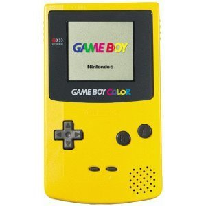 Game Boy Color jaune - the-90s Photo