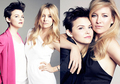 Ginnifer and Kate Hudson in Marie Claire June 2011