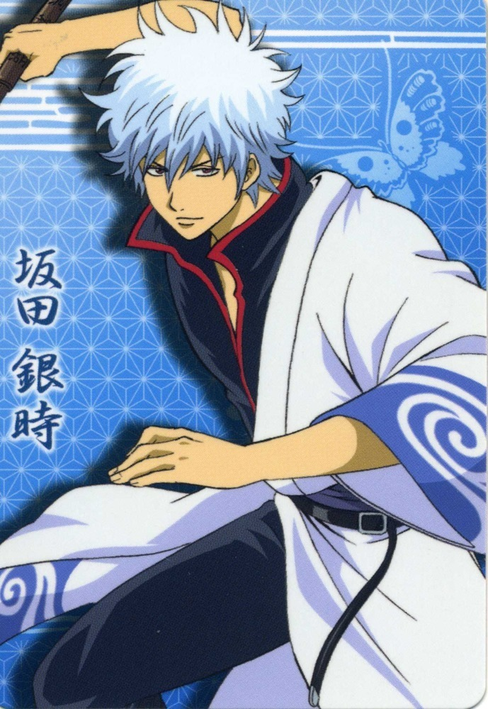 gintama otae and gintoki - photo #1