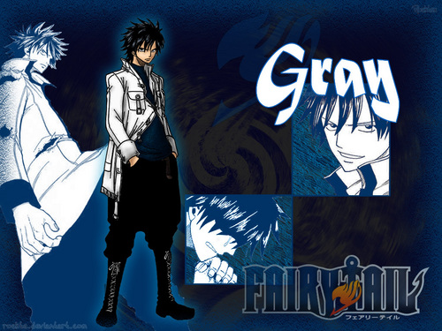 Gray Fullbuster wallpaper with anime called Gray Fullbuster