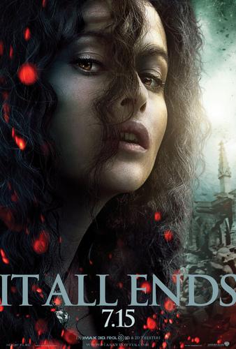 HP7 Part 2 Promotional Poster - Bellatrix Lestrange