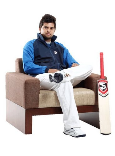 suresh raina wallpaper containing a wicket entitled Handsome