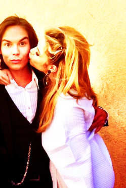 Hanna & Caleb wallpaper with a portrait called Ashley/Tyler ღ
