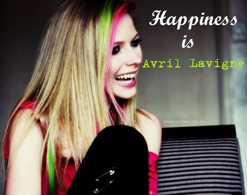 Happiness is Avril Lavigne
