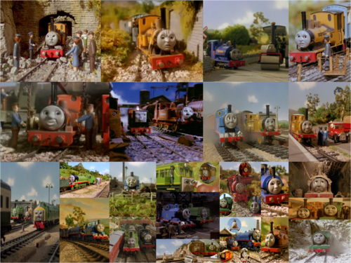 Thomas the Tank Engine wallpaper titled Home At Last And Other Stories