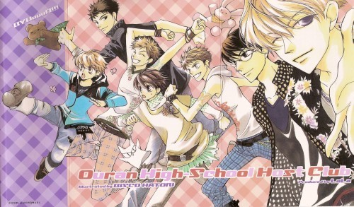 ouran high school host club wallpaper containing anime entitled Host Club komik jepang