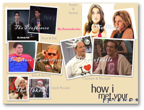 Friends Or How I Met Your Mother Yahoo : How i met your mother images friends hd