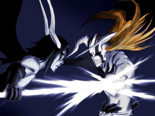 ICHIGO HOLLOW VS ULQUIORRA