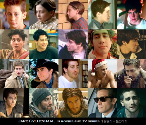 Jake Gyllenhaal on the screen 1991 - 2011
