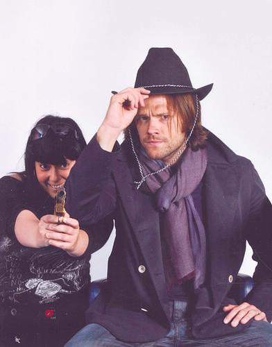 Jared with a shabiki